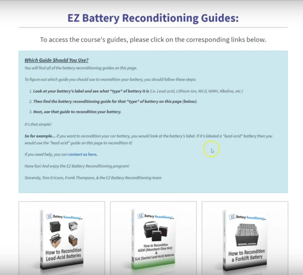 Ez Battery Reconditioning In Depth Review Will It Help You